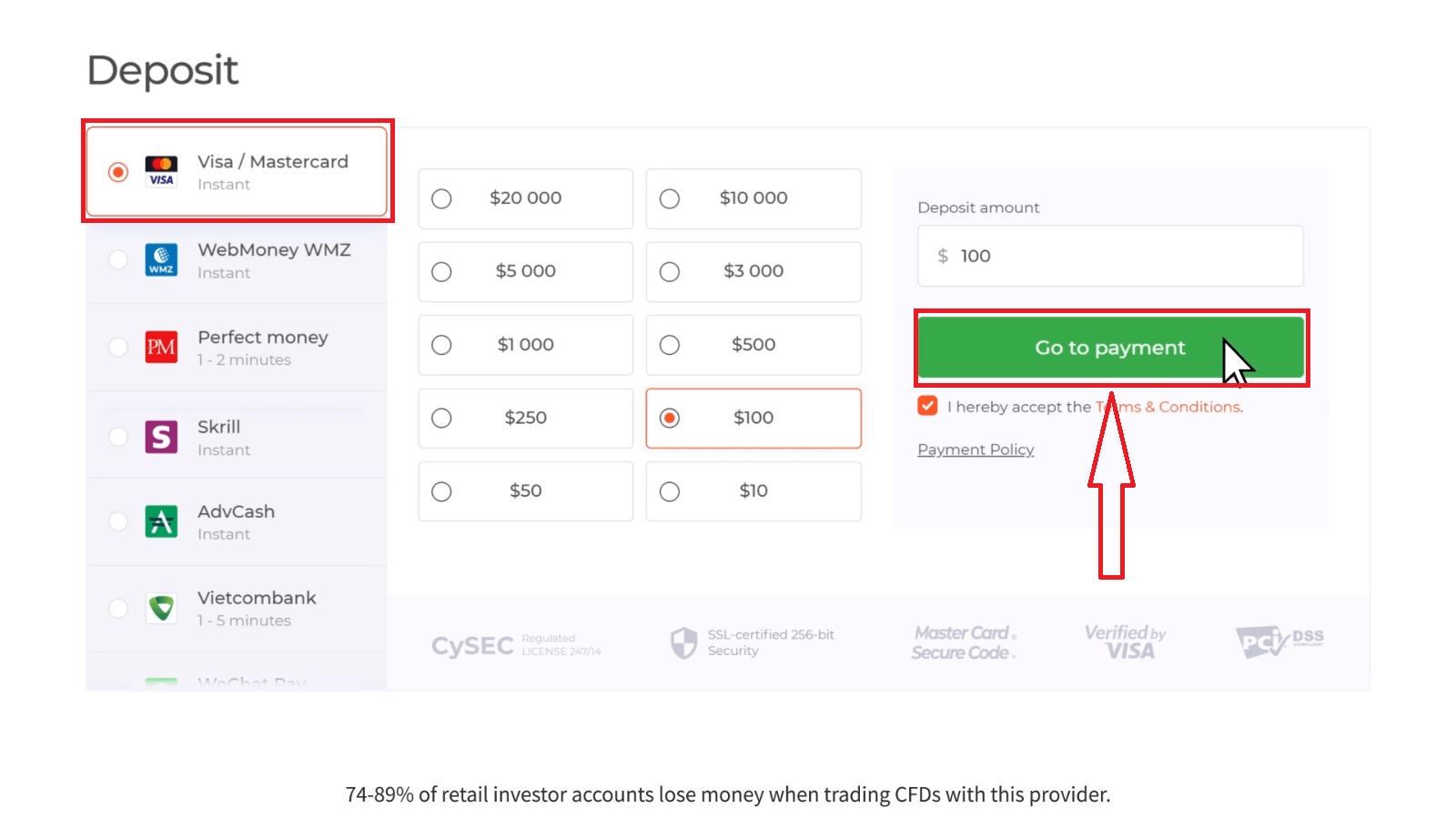 How to Withdraw and Make a Deposit Money in IQ Option